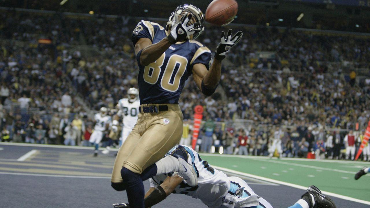 Isaac Bruce, Wide Receiver - Bildquelle: 2004 Getty Images
