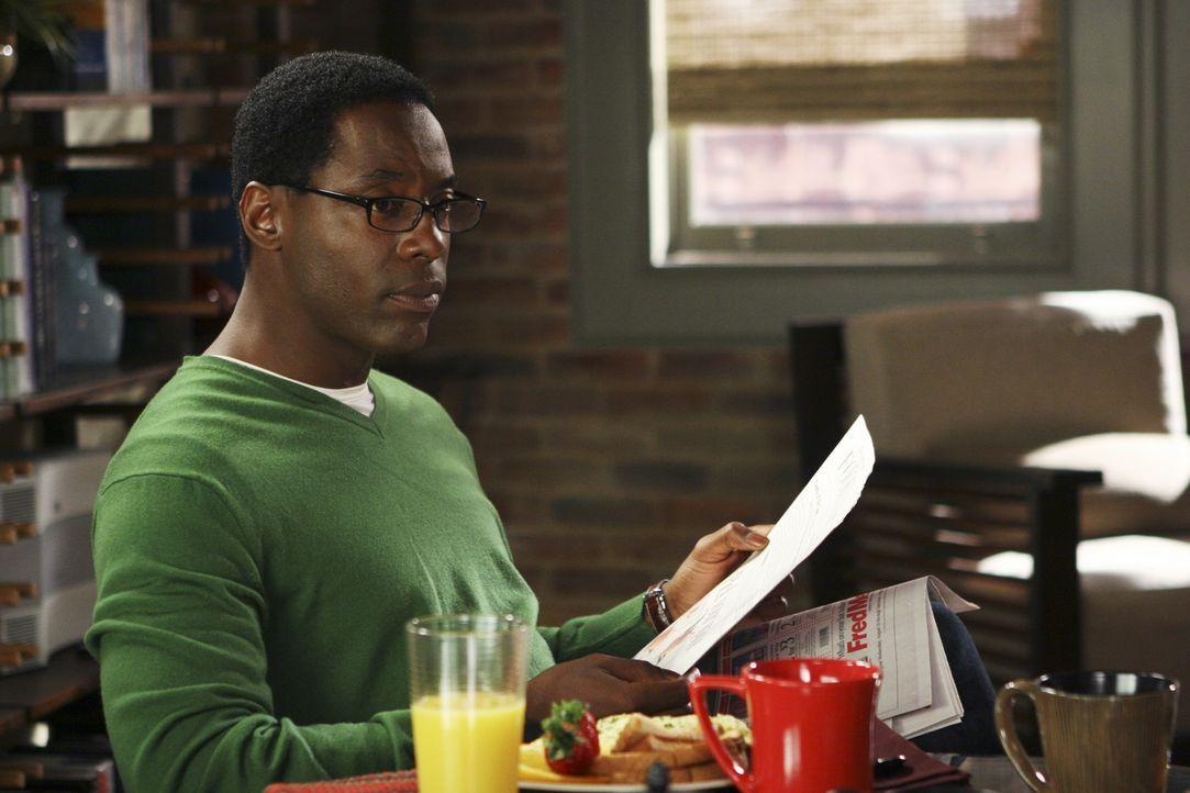 Den Status ihrer Beziehungen zu Dr. Burke (Isaiah Washington) gibt Cristina nicht ganz wahrheitsgemäß bekannt ... - Bildquelle: Touchstone Television