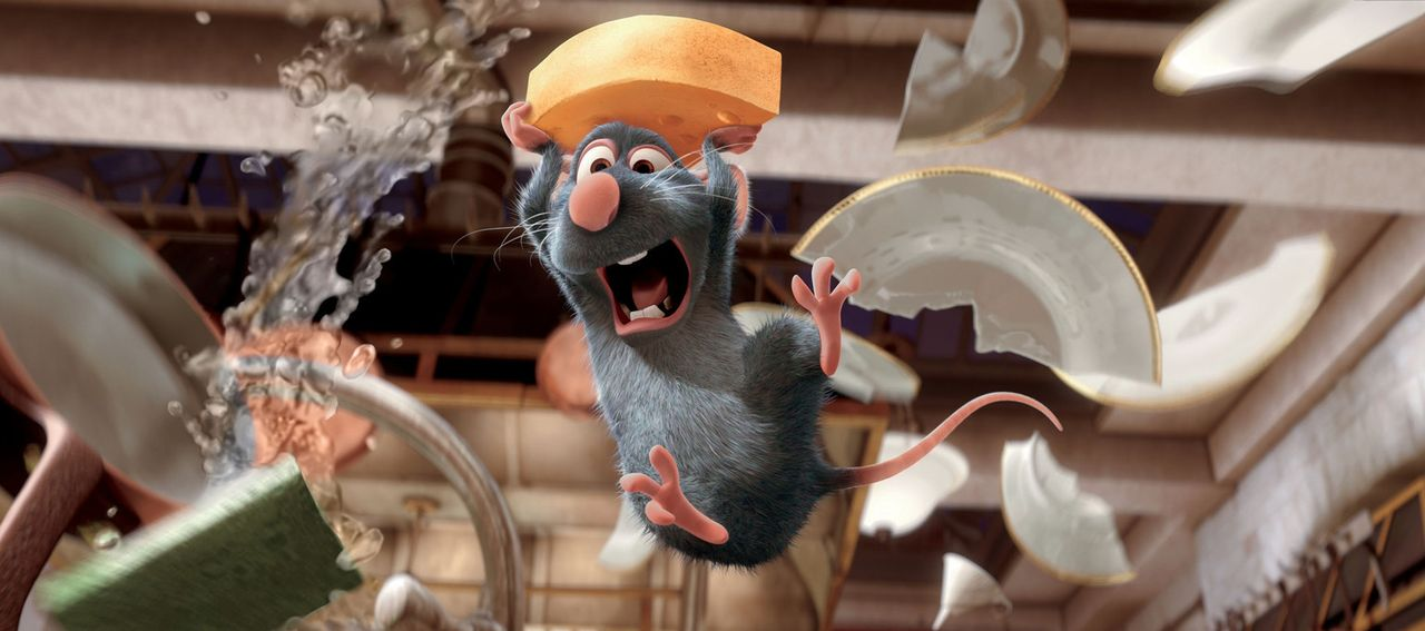 In der Küche sorgt Remy für Chaos und jede Menge Aufregung. Dabei will er eigentlich nur seiner Leidenschaft nachgehen: Kochen! - Bildquelle: Disney/Pixar.  All rights reserved