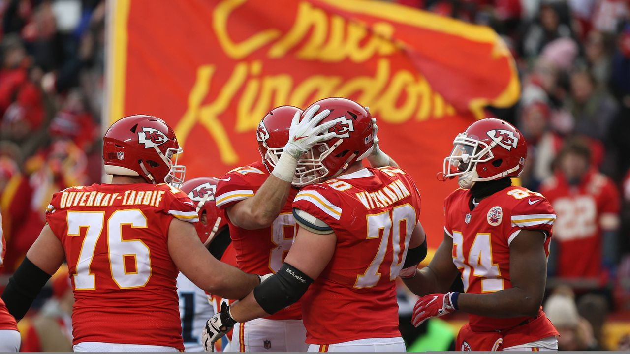 Kansas City Chiefs (3 Spieler) - Bildquelle: imago/Icon SMI