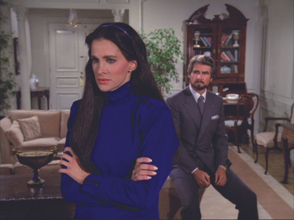 Wird aus Assistentin Christine Francis (Connie Sellecca, r.) und Manager Peter (James Brolin, l.) ein Paar? - Bildquelle: American Broadcasting Companies, Inc.. All rights reserved.