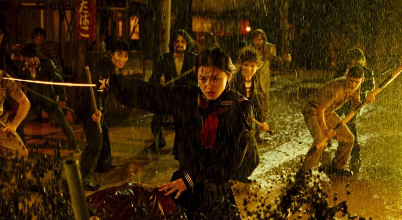 Hat viele blutrünstige Gegner am Hals: Saya (Gianna Jun) ...