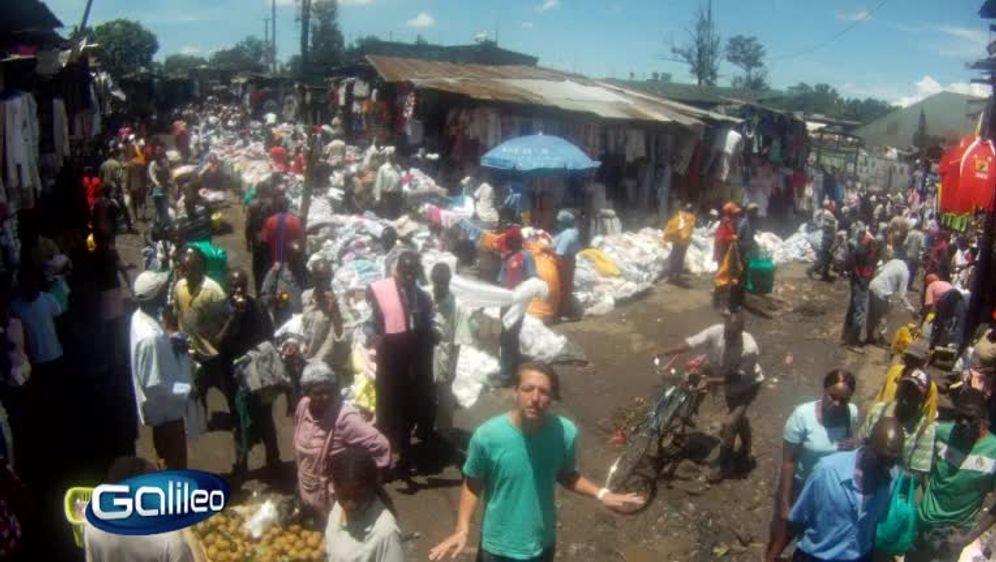 Größter Altkleidermarkt in Afrika