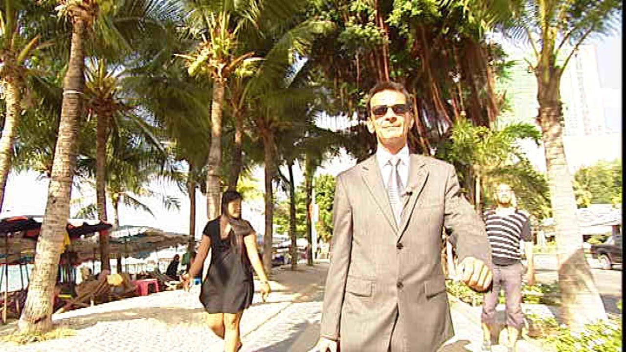 Konsul Rudolf Hofer betreut die deutsche Gemeinde in Pattaya. Krankenhausbesuche, Aufenthaltsgenehmigungen, Problemlösungen aller Art sind sein Met... - Bildquelle: SAT.1