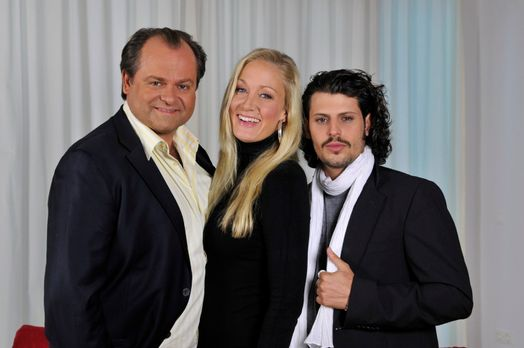 Die dreisten Drei - Die Comedy WG - v.l.n.r.: Markus Majowski, Janine Kunze u...