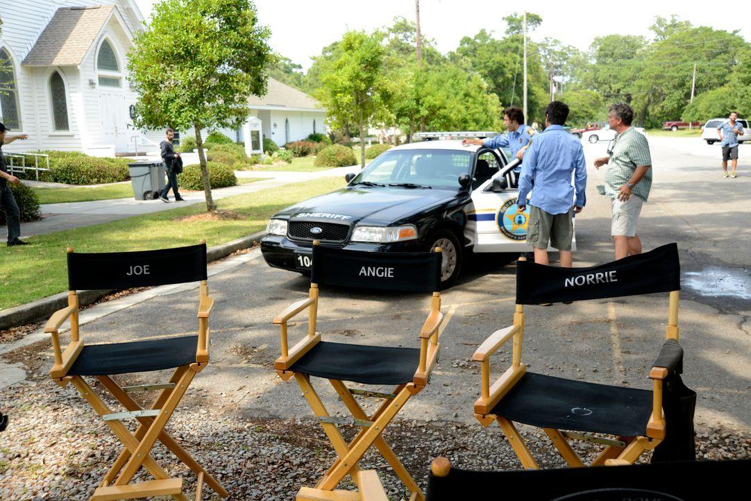 Under The Dome - Behind The Scenes - Bild vom Set der Serie15 - Bildquelle: CBS Television
