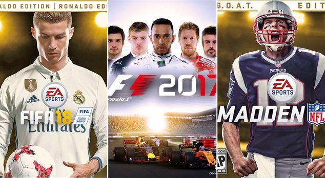 Sport Games Releases 2017/2018 - Bildquelle: EA Sports