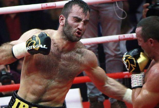 Murat Gassiev (l.) will im WBSS-Halbfinale den nächsten Coup landen