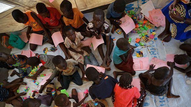 Unbegleitete Flüchtlingskinder in Uganda
