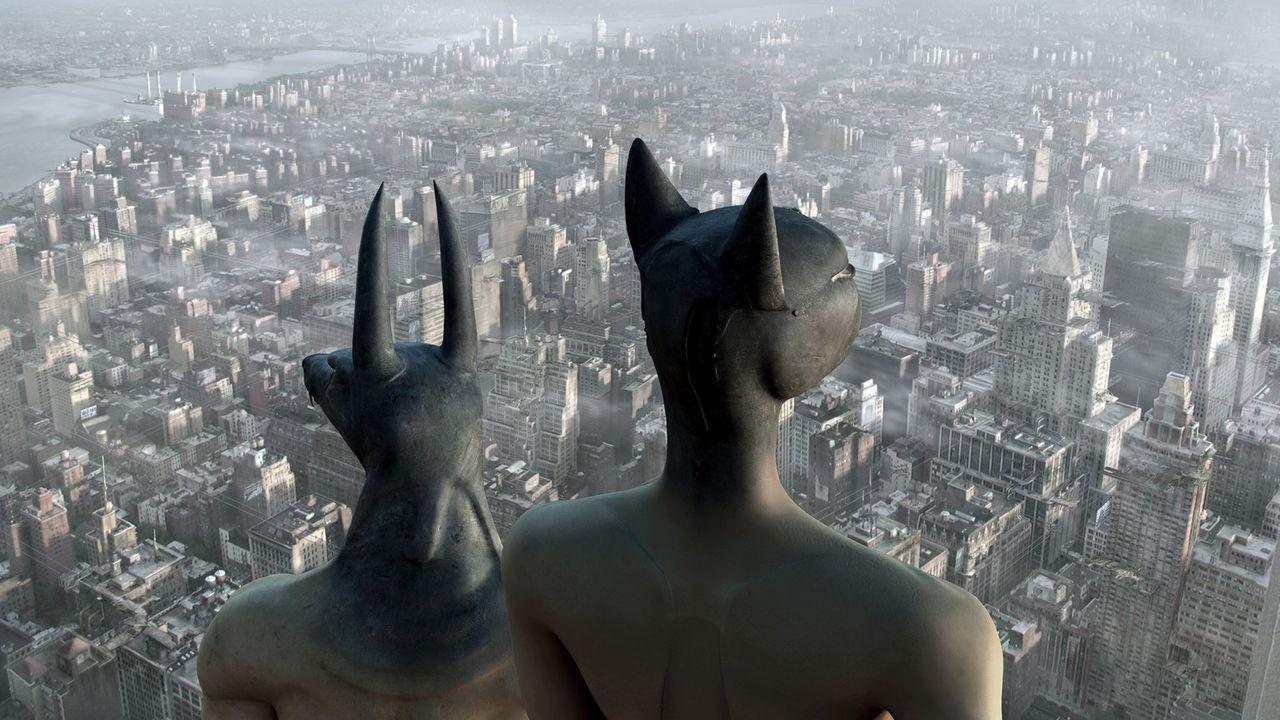 Eines Tages beschließen die Götter im Pantheon, dass Horus seine Unsterblichkeit verlieren soll. Da bleibt dem armen Gott nichts anderes übrig, a... - Bildquelle: TF1 Films Productions