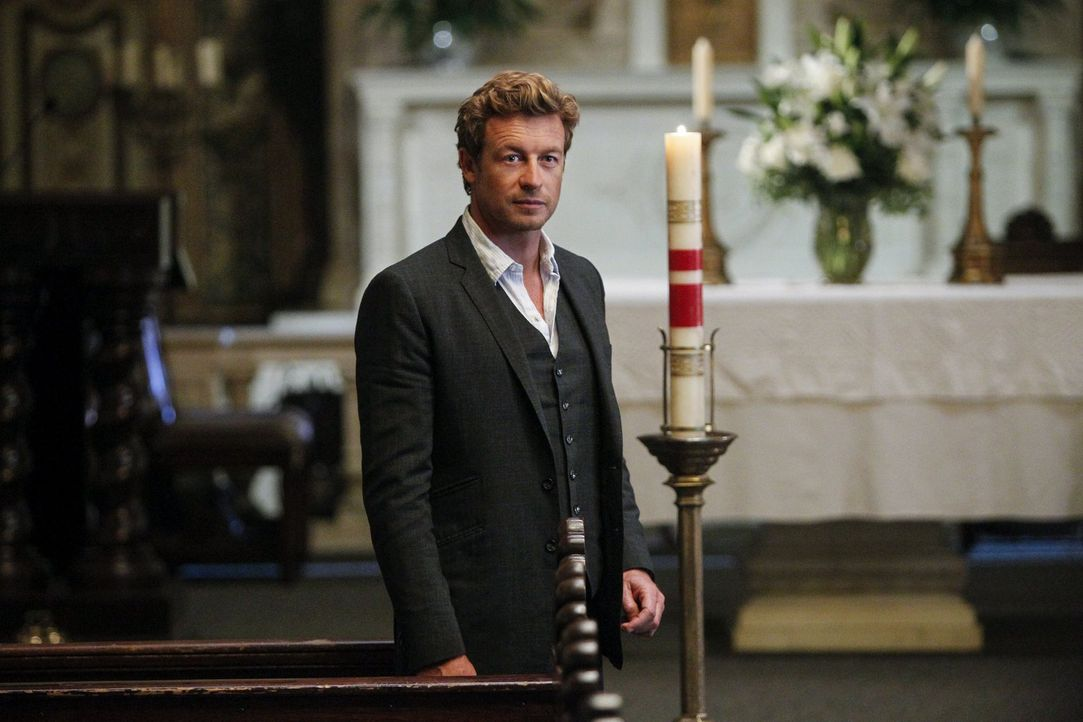 Die Suche nach Gale Bertram alias Red John geht weiter: Patrick Jane (Simon Baker) ... - Bildquelle: Warner Bros. Television