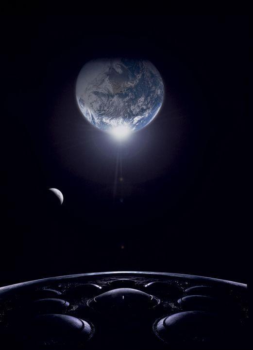 Ein gigantisches UFO kommt der Erde immer näher. Aliens planen eine Invasion. Als sie mit massiven Feuersalven angreifen, scheint das Schicksal der... - Bildquelle: 20th Century Fox Film Corporation