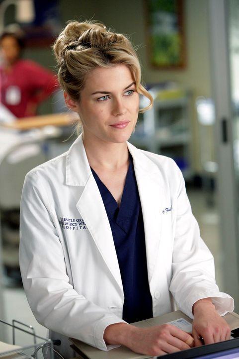 Während die Beziehung von Lucy (Rachael Taylor) und Alex auf eine Harte Probe gestellt wird,  bringt der private und berufliche Stress Meredith an i... - Bildquelle: ABC Studios
