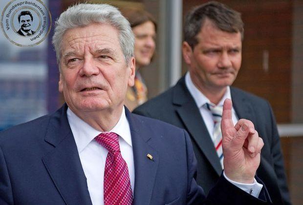 Super-Gauck: Die neuen Beleidigungen sind da