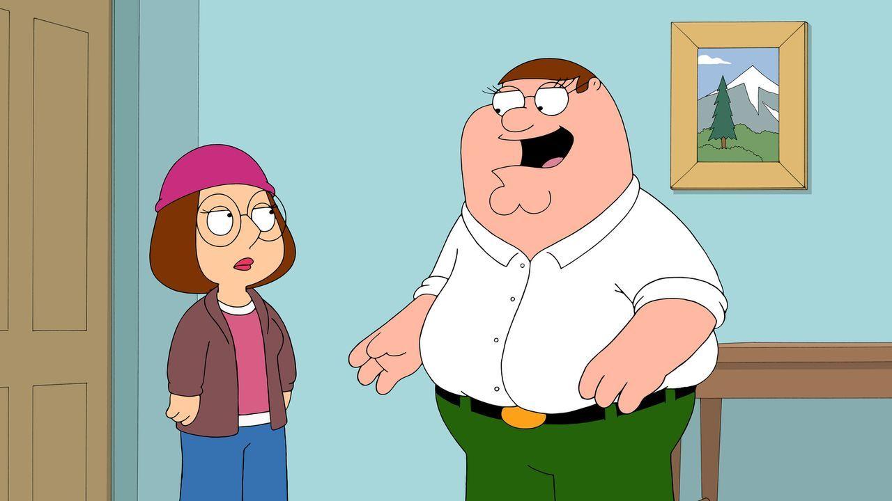 Meg (l.) will sich ein College aussuchen und Peter (r.) fährt sie sehr widerwillig zu einem Vorstellungsgespräch nach Vermont. Auf der Fahrt freunde... - Bildquelle: 2014 Twentieth Century Fox Film Corporation. All rights reserved.