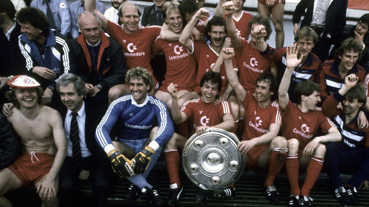 FC Bayern München (Saison 1985/86) - Bildquelle: imago/Horstmüller