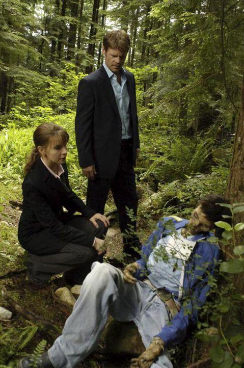 In Seattle gibt es in letzter Zeit mehrere rätselhafte Morde. Tom (Joel Gretsch, M.) und Diana (Jacqueline McKenzie, l.) glauben, dass es sich bei d... - Bildquelle: Viacom Productions Inc.
