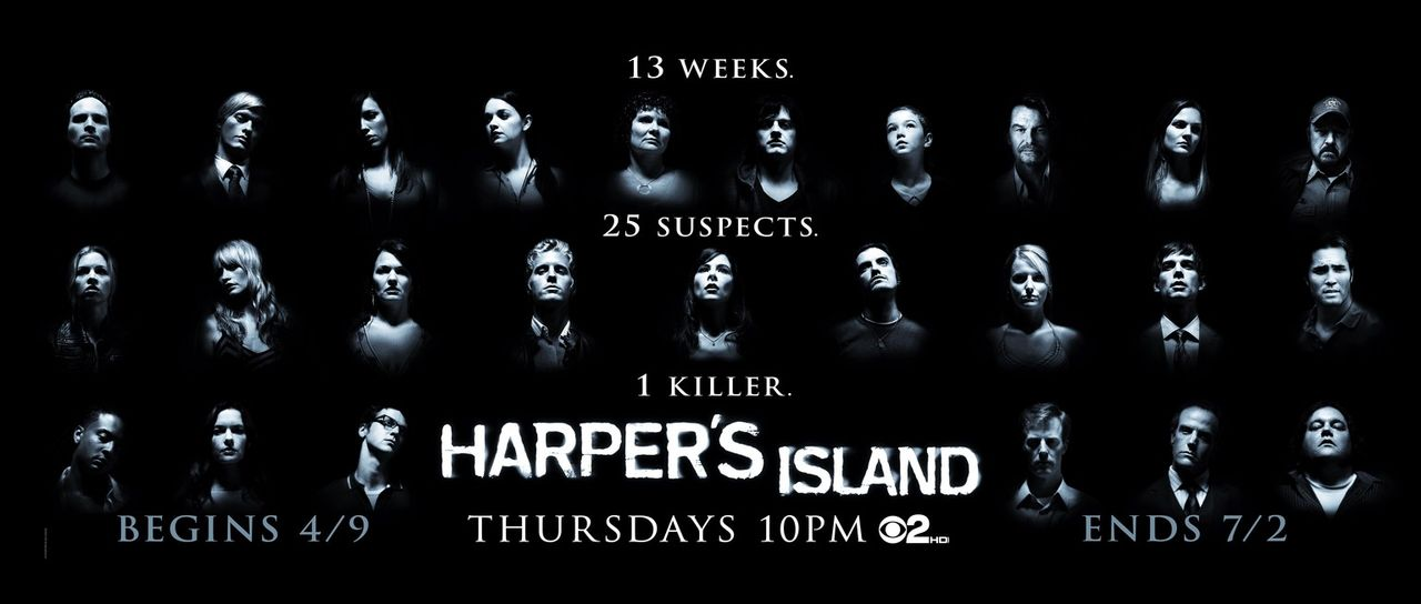 (1. Staffel) - HARPER'S ISLAND - Plakatmotiv - Bildquelle: 2009 CBS Studios Inc. All Rights Reserved.
