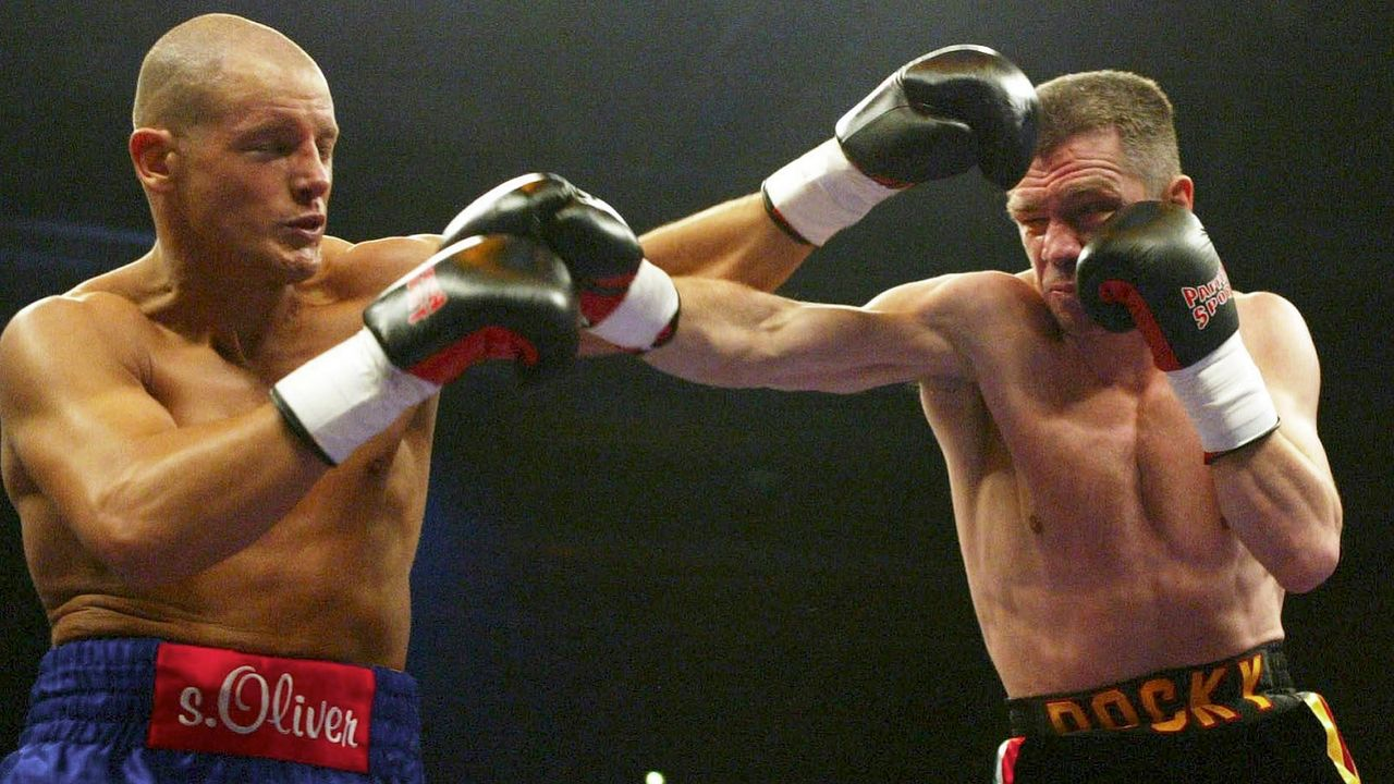 Rocchigiani vs. Thomas Ulrich, 10. Mai 2003, Stuttgart - Bildquelle: Getty Images