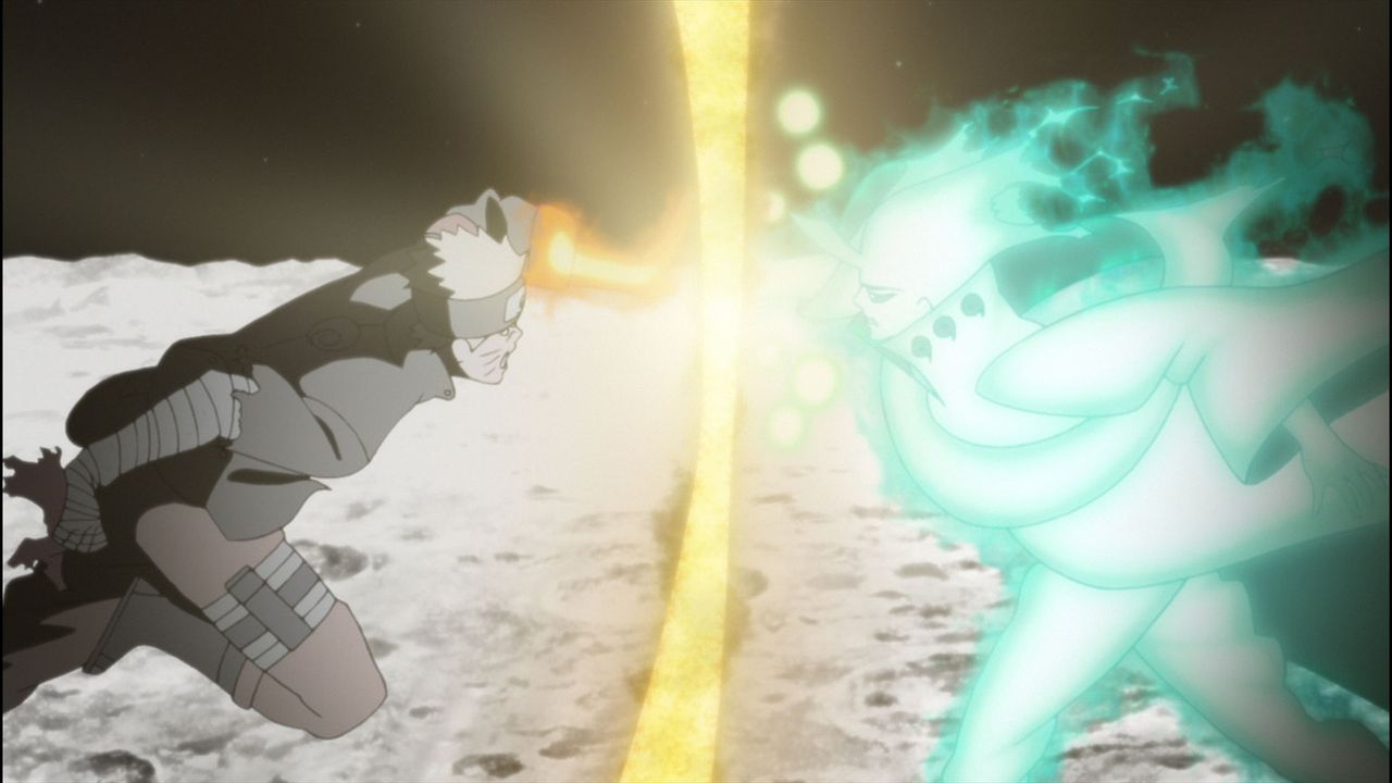 Als zuerst Hanabi, dann auch noch Hinata auf mysteriöse Weise verschwindet, muss Naruto einmal mehr die Welt vor dem Untergang retten. Doch welche R... - Bildquelle: 2002 MASASHI KISHIMOTO /2007 Shippuden   NMP 2014
