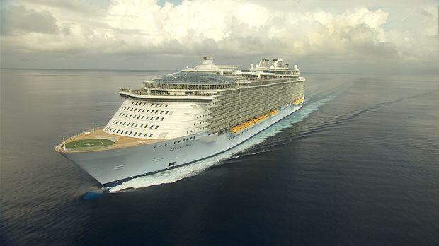 Sie ist ein Kreuzfahrtschiff der Superlative - die Oasis of the Sea ... © Exp...