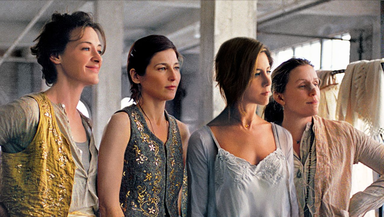 Franny (Joan Cusack, l.), Christine (Catherine Keener, 2.v.l.), Olivia (Jennifer Aniston, 2.v.r.) und Jane (Frances McDormand, r.) sind die besten F... - Bildquelle: 2006 Sony Pictures Classics Inc. for the Universe excluding Australia/NZ and Scandinavia (but including Iceland). All Rights Reserved.