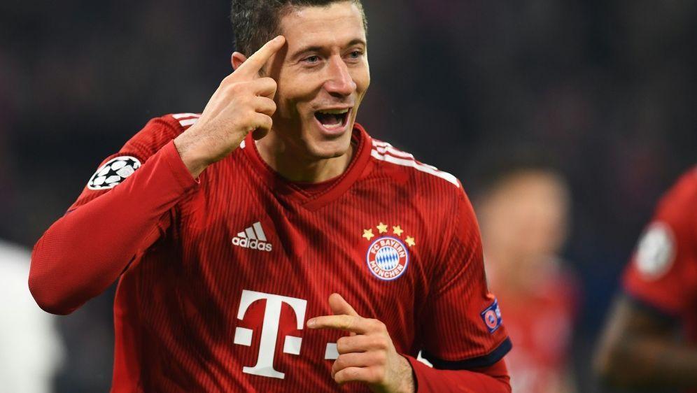 Lewandowski glaubt an siebten Titel von Bayern München - Bildquelle: AFPSIDCHRISTOF STACHE