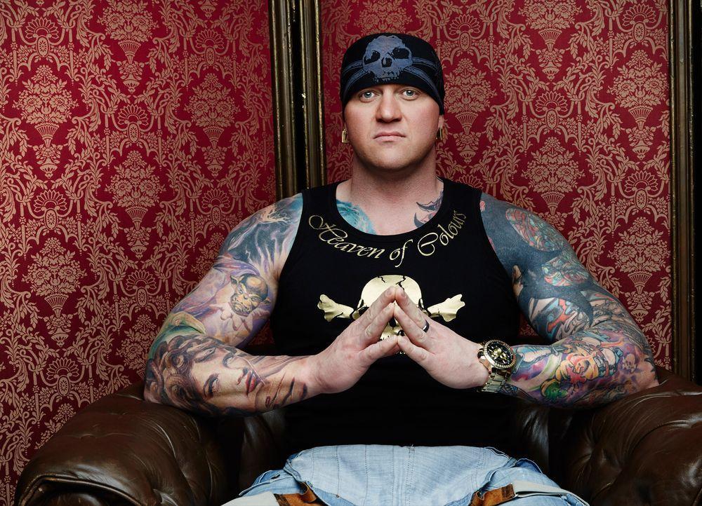 Horror Tattoo: Randy ist farbenfroh - Bildquelle: sixx