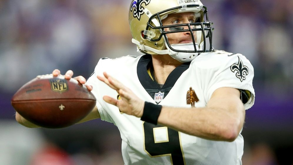 Brees bleibt den Saints zwei weitere Jahre treu - Bildquelle: AFPGETTYSIDJAMIE SQUIRE