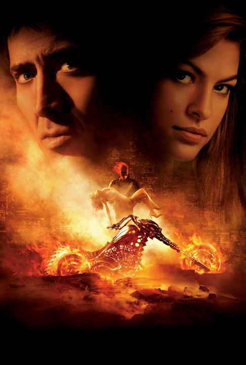 Ghost Rider - Artwork - Bildquelle: 2007 CPT Holdings, Inc. All Rights Reserved. (Sony Pictures Television International)