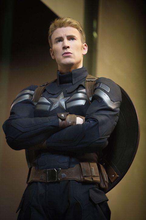 Chris-Evans-Captain-America-The-Winter-Soldier-2014Marvel - Bildquelle: 2014 Marvel