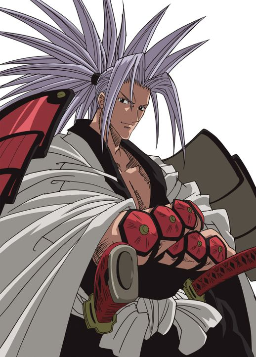 """Der vor 600 Jahren verstorbene Amidamaru (Bild) ist Yohs """"Main Spirit"""", seit dieser ihm geholfen hat, den langersehnten Frieden zu finden ... - Bildquelle: Hiroyuki Takei. All rights reserved"""