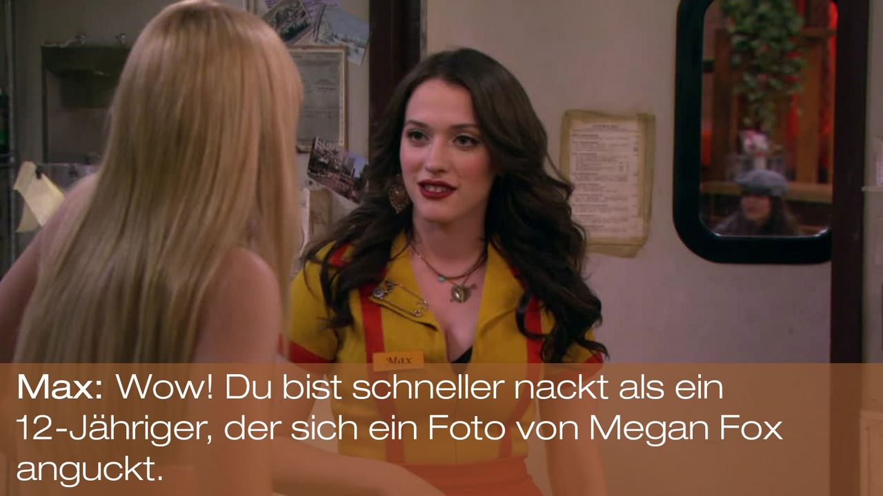 2-Broke-Girls---0316--Zitat10 - Bildquelle: Warner Brothers