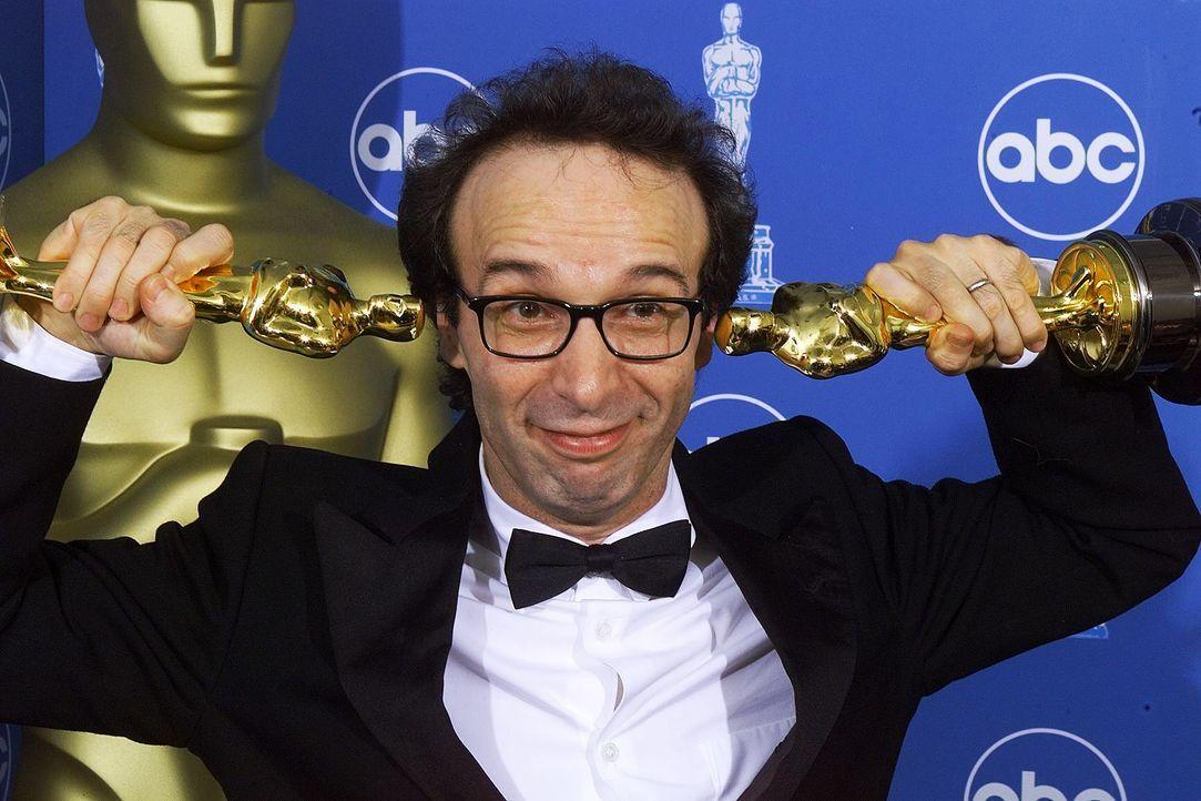 Bester-Hauptdarsteller-1999-Roberto-Benigni-AFP - Bildquelle: AFP