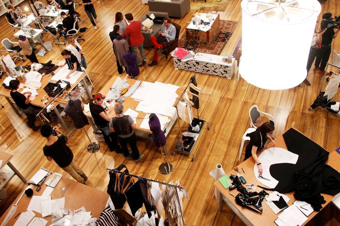 Fashion-Hero-Epi01-Atelier-60-ProSieben-Richard-Huebner - Bildquelle: ProSieben / Richard Huebner