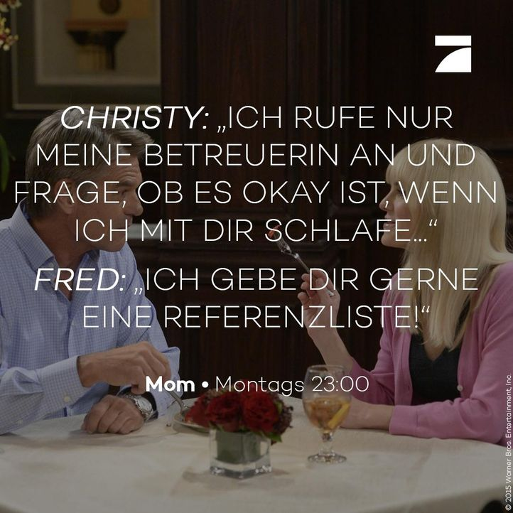 Christy und Fred - Staffel 3 Episode 9 - Bildquelle: 2016 Warner Bros. Entertainment, Inc.