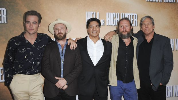 "Das ""Hell or High Water""-Team ©WENN.com"