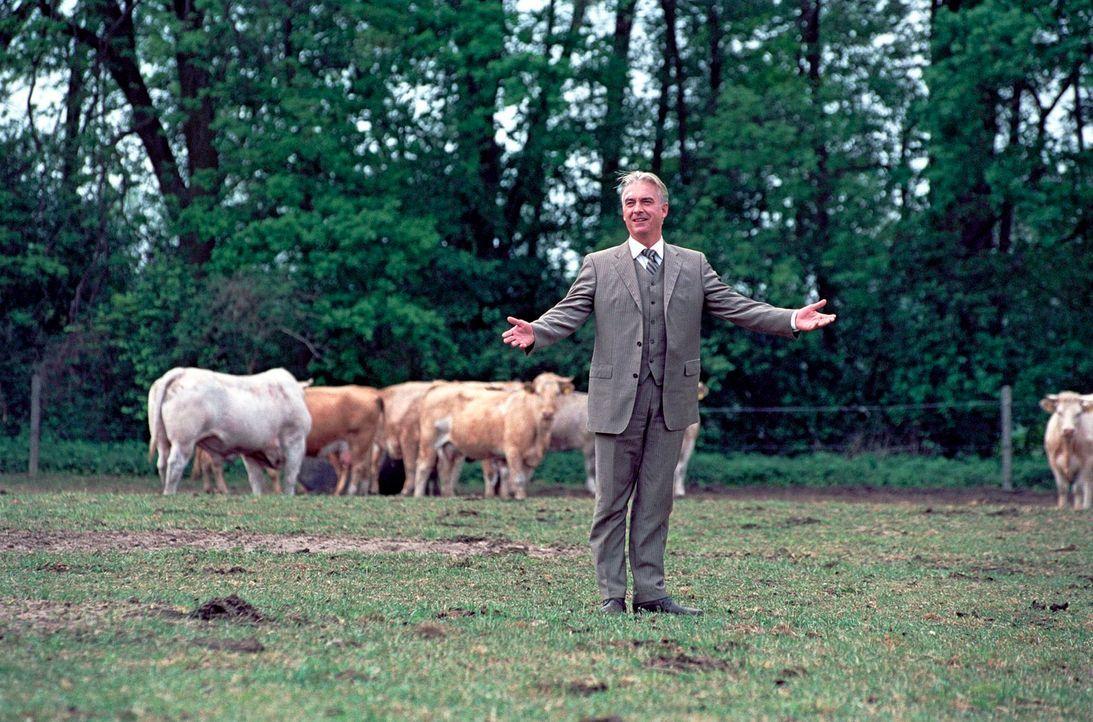 """Johannes Waller (Christoph M. Ohrt) ist """"Allein unter Bauern"""". - Bildquelle: Hardy Spitz Sat.1"""