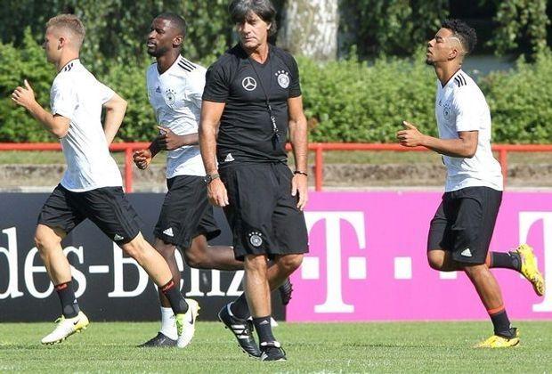 Joachim Löw setzt auf Draxler und Mustafi