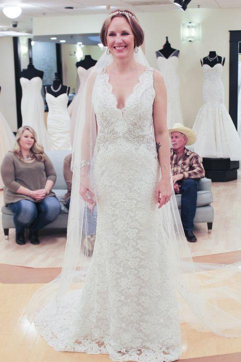 Schon ihr Antrag war etwas ganz besonders, doch auch ihr Brautkleid-Kauf wird für Kristin zum Erlebnis ... - Bildquelle: TLC & Discovery Communications