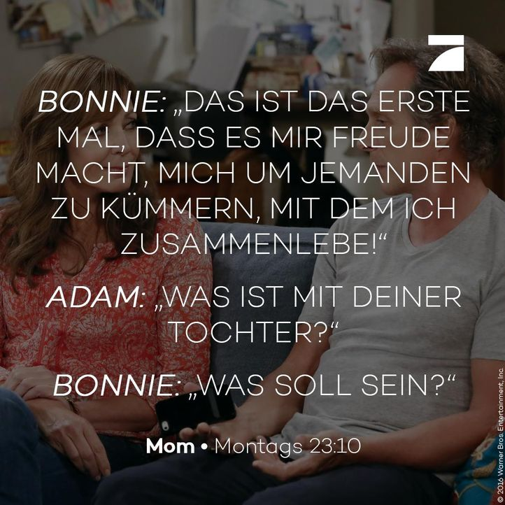 Bonnie und Adam - Staffel 4 Episode 1 - Bildquelle: 2016 Warner Bros. Entertainment, Inc.