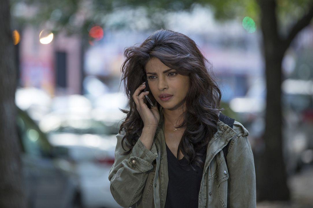 Versucht auf der Flucht alles, um Liam und sein Team auszutricksen, und Beweise für ihre Unschuld zu finden: Alex (Priyanka Chopra) ... - Bildquelle: 2015 ABC Studios