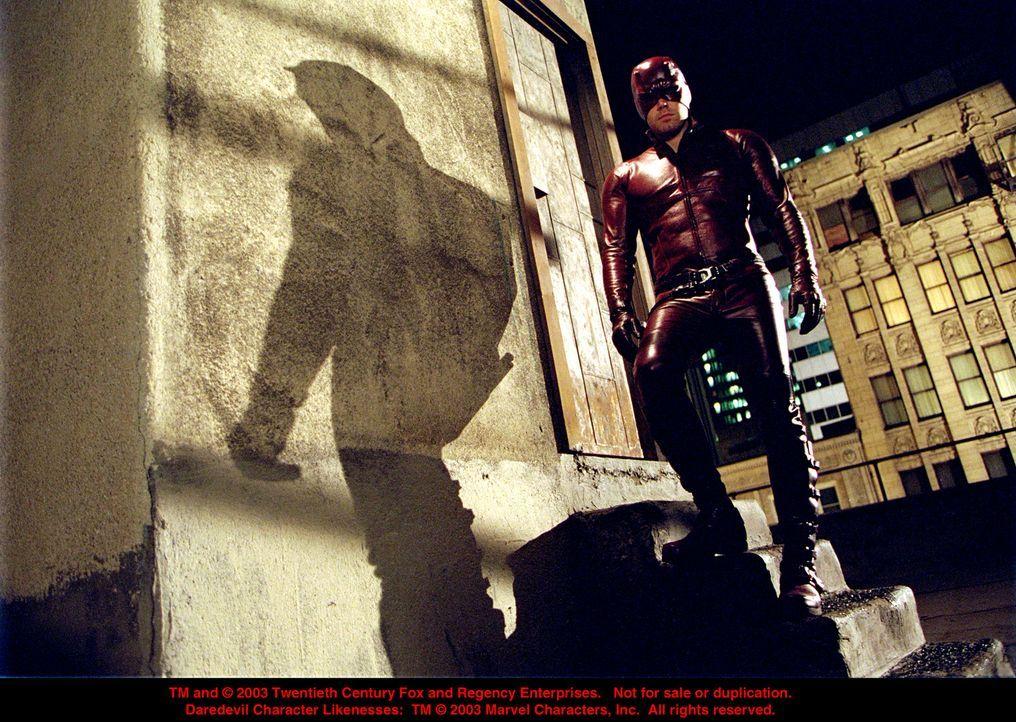 Nachts sind seine Sinne unbestechlich: Daredevil (Ben Affleck) ... - Bildquelle: 20th Century Fox