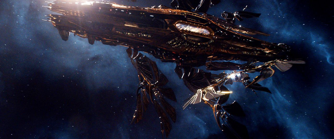 Jupiter-Ascending-05-Warner-Bros-Entertainment-Inc - Bildquelle: 2014 Warner Bros. Entertainment Inc