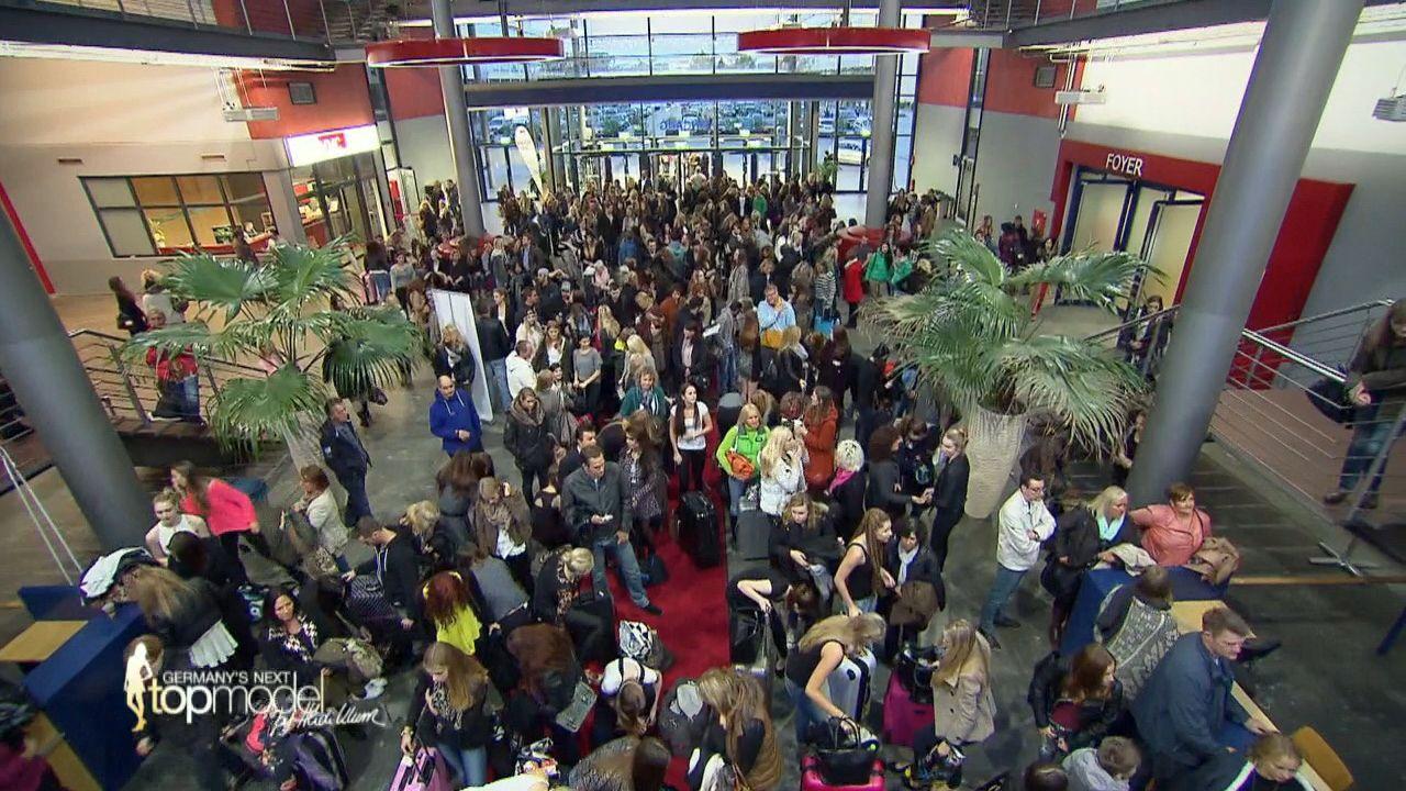 GNTM-10-Sendung01_033 - Bildquelle: ProSieben