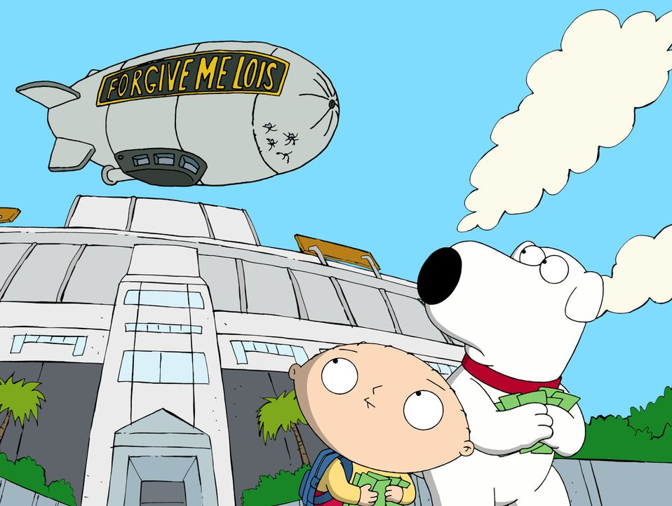 Brian (r.) und Stewie (l.) begeben sich auf eine Reise in die Vergangenheit und sorgen für ein riesiges Chaos ... - Bildquelle: 2011 Twentieth Century Fox Film Corporation. All rights reserved.