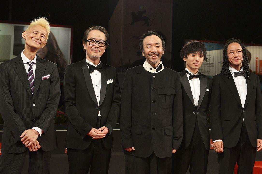 Chu- Ishikawa- Lily- Franky- Shinya- Tsukamoto-Yusako Mori -Tatsuya- Nakamura-14-09-02-Venedig-AFP - Bildquelle: AFP