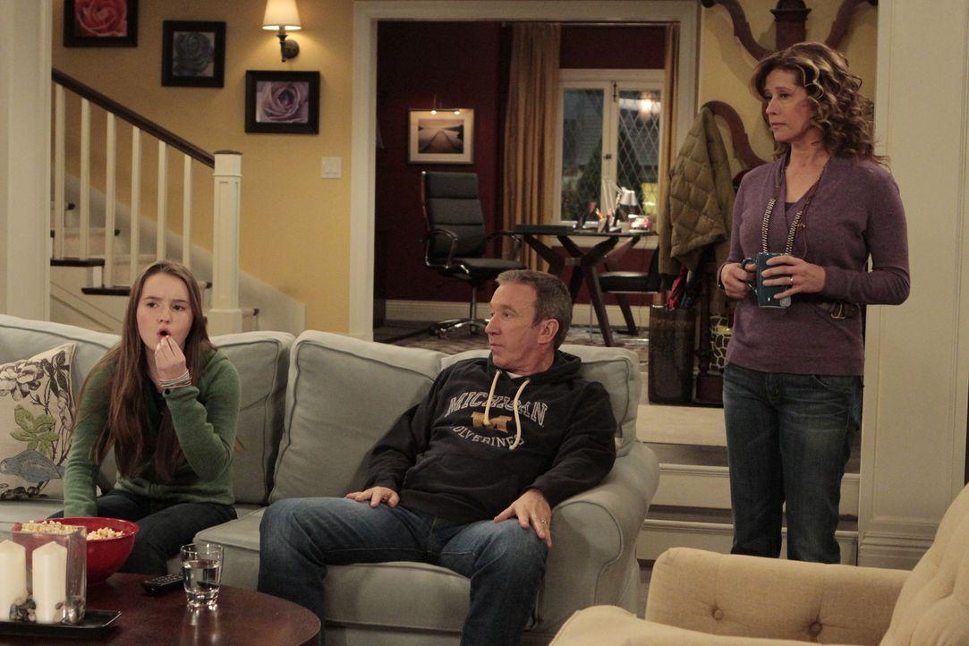 Familie Baxter wird nachts von Klingelstreichen terrorisiert. Besonders Vanessa (Nancy Travis, r.) gehen diese nächtlichen Ruhestörungen auf die Ner... - Bildquelle: 2011 Twentieth Century Fox Film Corporation