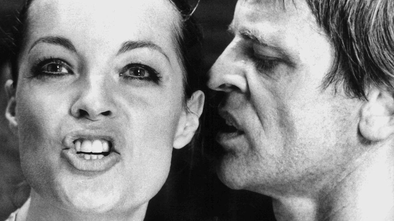 Klaus Kinski mit Romy Schneider  - Bildquelle: dpa