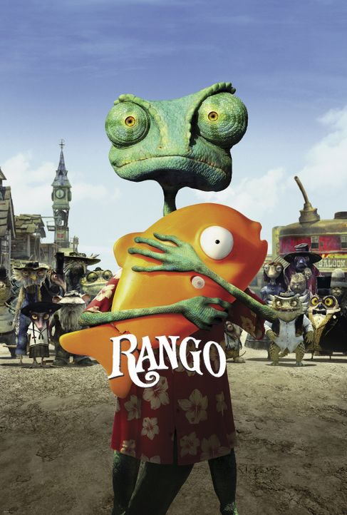 RANGO - Plakatmotiv - Bildquelle: Paramount Pictures. All rights reserved.